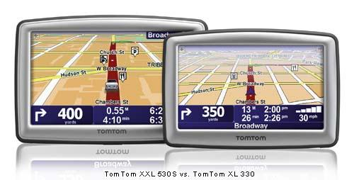 TomTom rolls out two new XXL GPS units | TechCrunch