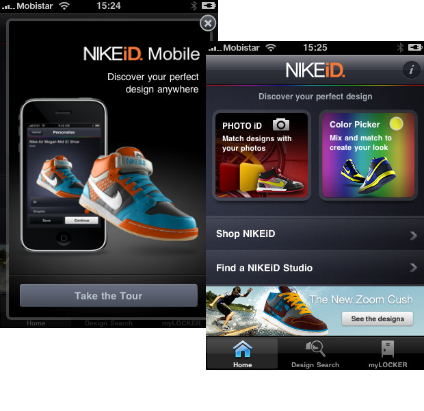 new products 61be2 d13ff Create and order personalized Nike sneakers straight from your iPhone