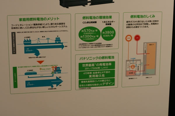 Lithium Ion Battery >> Panasonic unveils Lithium-Ion battery module and home fuel cell cogeneration facility – TechCrunch