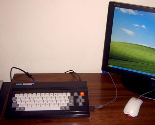 Old $4 Sega PC turned into real computer | TechCrunch