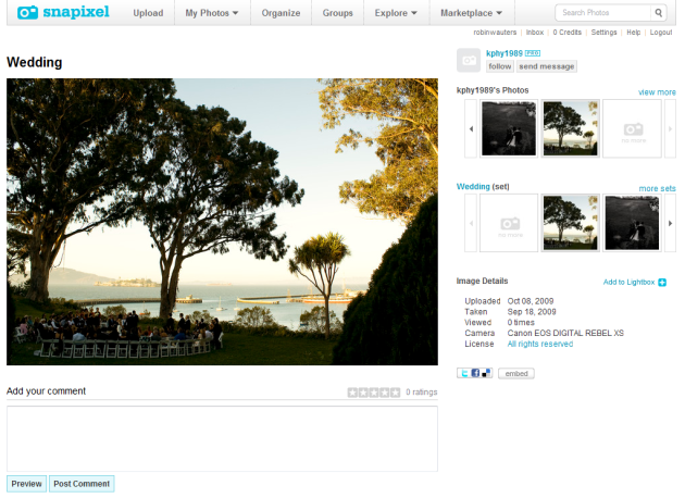 Snapixel Lets You Share, Sell Photos | TechCrunch