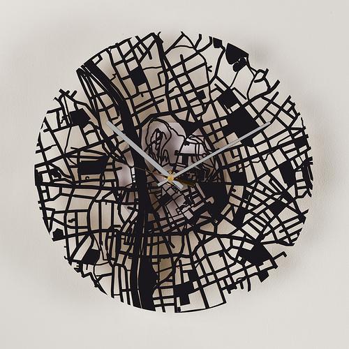 streetmap clock