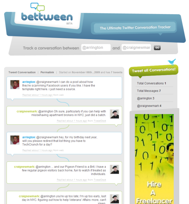 Bettween Makes Tracking And Sharing Twitter Conversations A