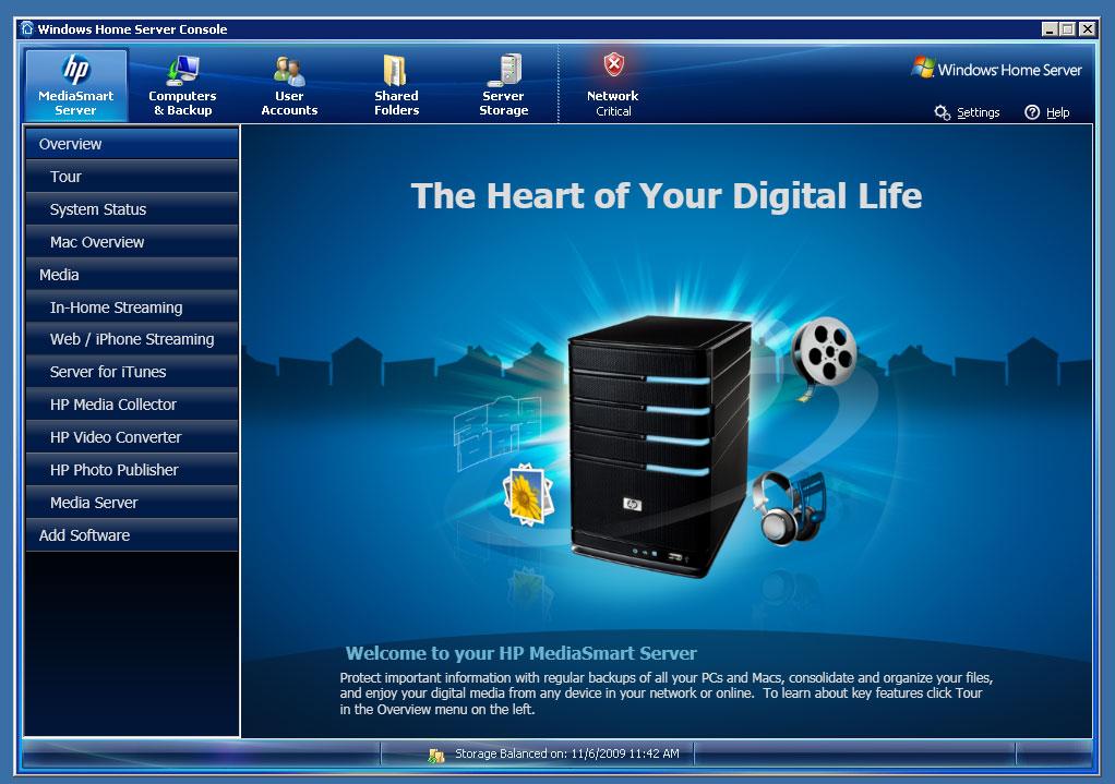 Review: HP MediaSmart Server EX495 | TechCrunch