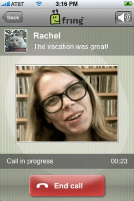 Fring Brings Free Video Calling To The iPhone, Nokia Smartphones