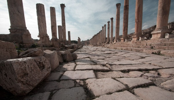 Jerash-Roman-Road