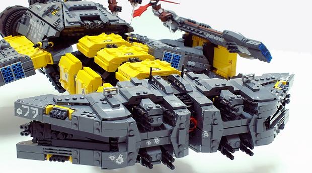 lego terran battlecruiser
