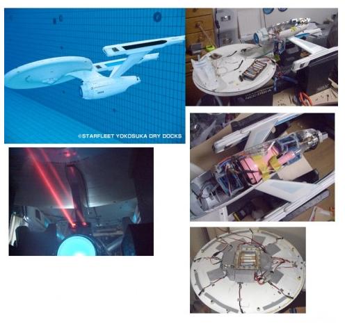 USS ENTERPRISE _model