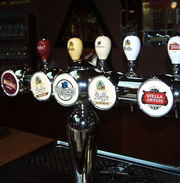 Beer Taps from the EBA Beer Tasting by Andre Charland