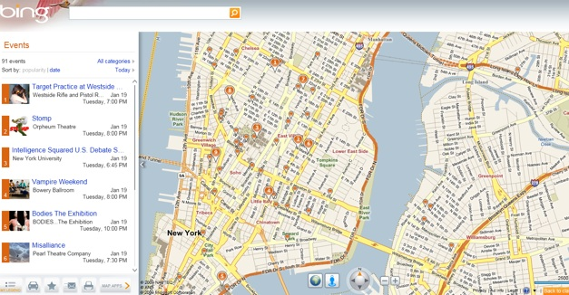 bing maps adds two new silverlight apps for events and customized directions