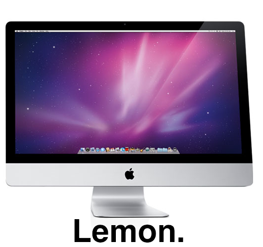A Quick And Dirty Fix For The 27-inch iMac Screen Problem