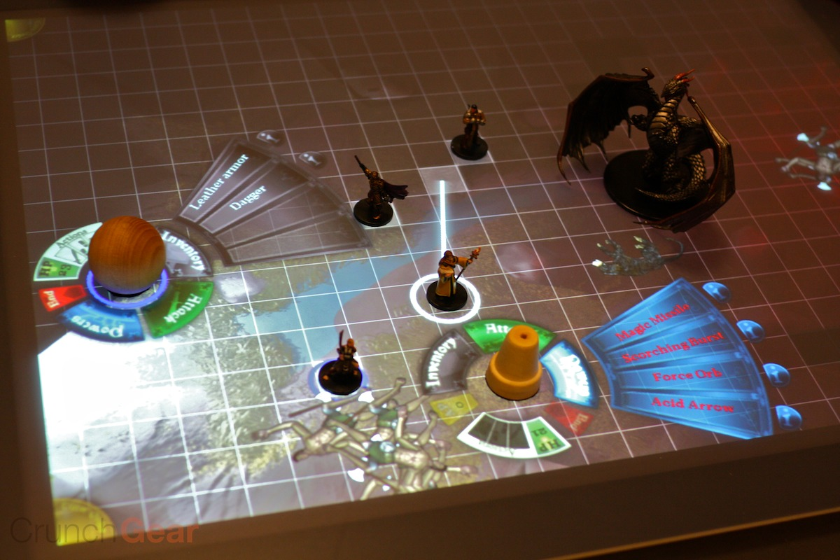Handson DD On The Microsoft Surface TechCrunch - Digital board game table