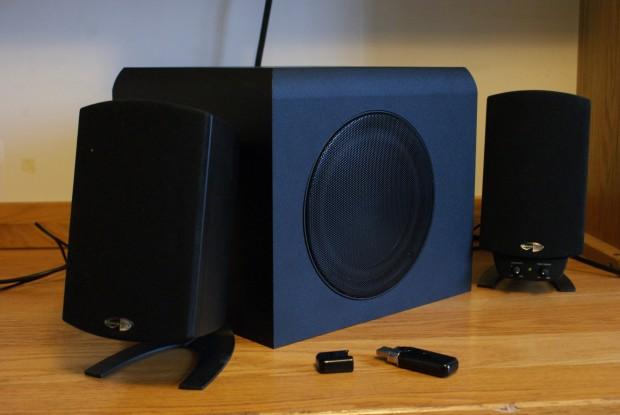 Review: Klipsch ProMedia 100.10 Wireless Speaker System  TechCrunch