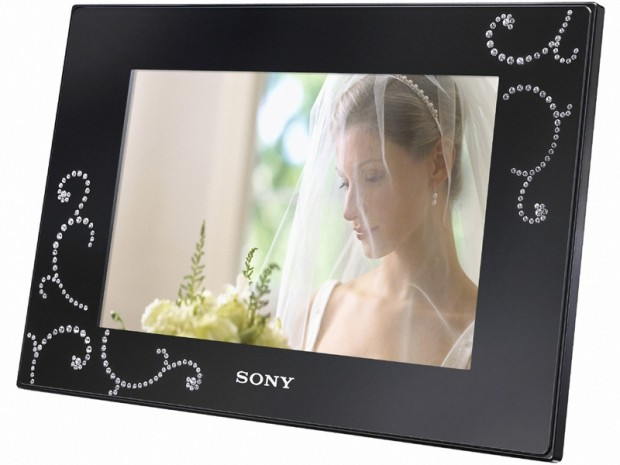 Sonys Swarovski Crystal Studded Photo Frames Techcrunch