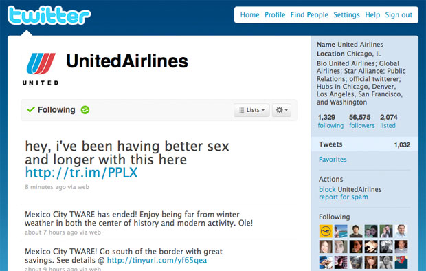 United Airlines discovers how to gain revenue using Twitter