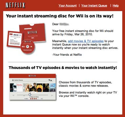 how to change country on netflix wii