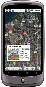Zillow Launches Android App To Browse Home Sales And Rental ... on zillow maps, property search, zillow zestimates, zillow apartments, zillow real estate homes, zillow foreclosures, google home search, zillow find neighborhood, zillow aerial search, realtor home search, mls home search, home by address search, zillow illinois, zillow real estate search, zillow real estate trulia, zillow real estate value, zillow logo vector, zillow search neighborhood, zillow rentals, zillow bird eye,