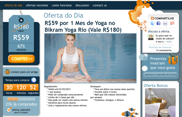 Peixe Urbano Brazil Gets A Groupon Like Deal Site Techcrunch