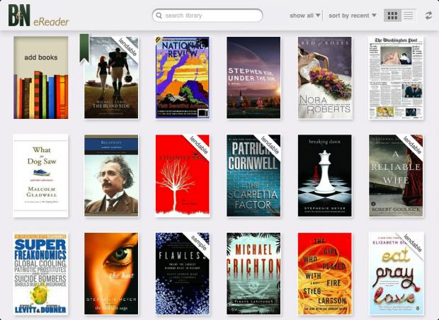 B&N launches a Nook iPad app   TechCrunch