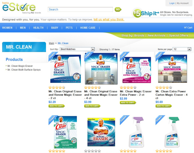 Procter Gamble Opens Online Store In The Us With Flat Shipping Rates Techcrunch