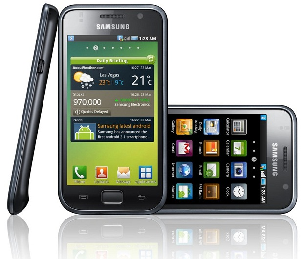 Happy 10th anniversary, Android samsung galaxy s