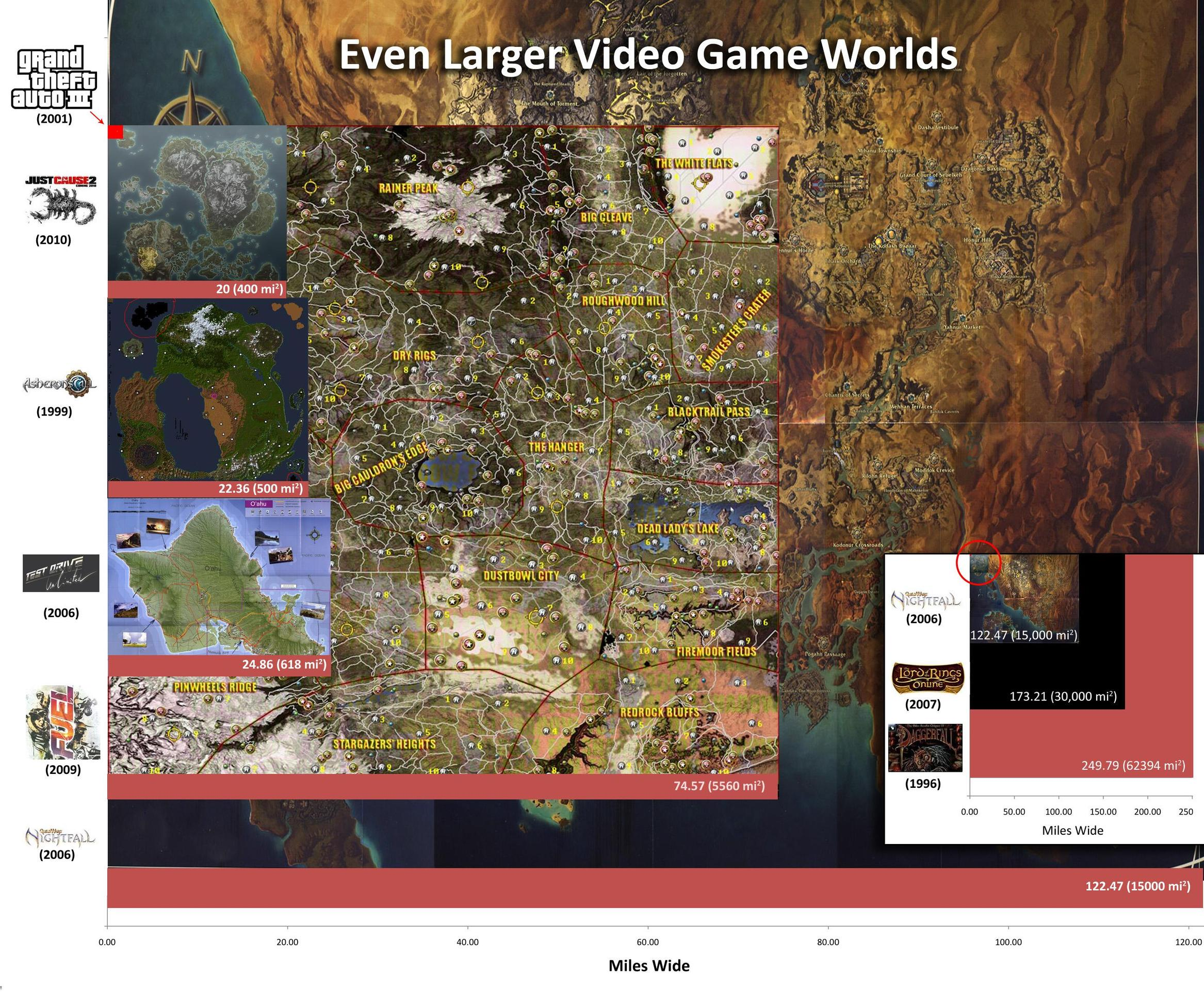 Video game maps even bigger edition techcrunch together a map gumiabroncs Gallery