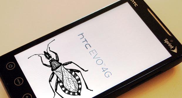 HTC EVO 4G bug
