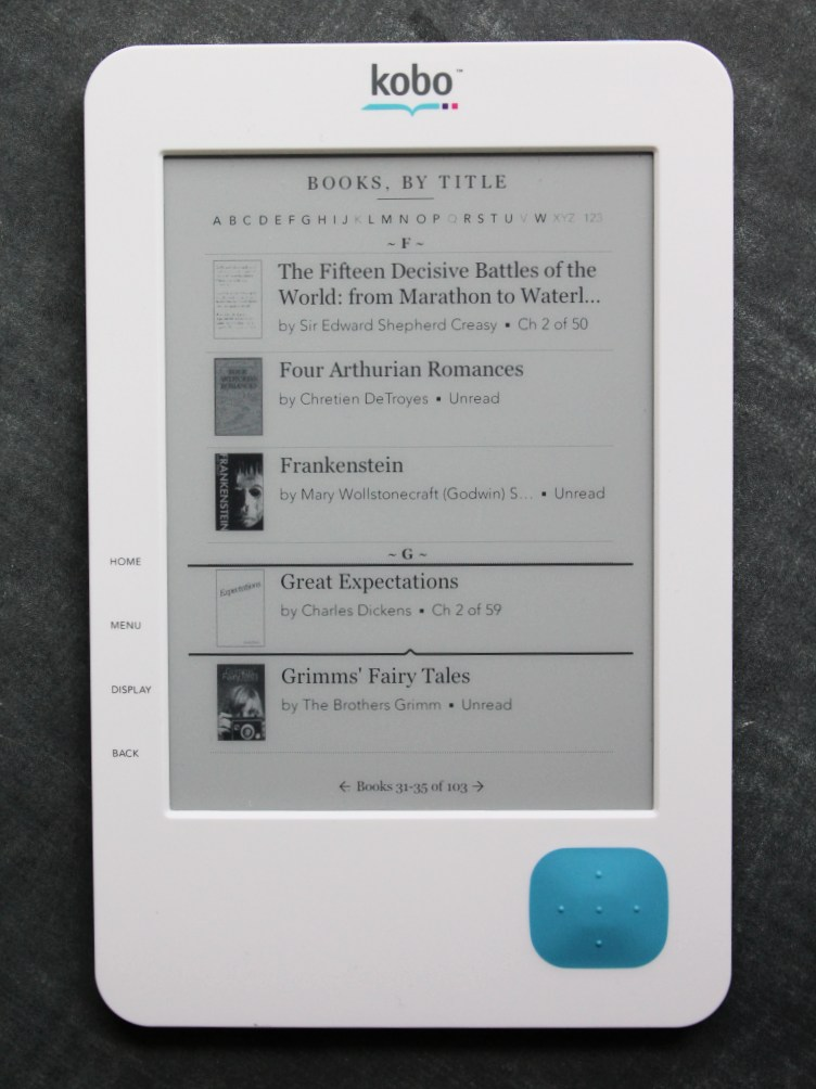 Review: Kobo eReader | TechCrunch