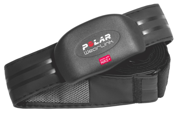 b256731c4186 Nike and Polar (the heart rate monitor people) have just introduced the  Polar WearLink+ that connects your Polar gear to the Nike+ iPod pedometer.