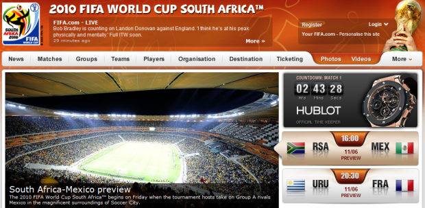 2010 FIFA World Cup South Africa: The Ultimate Guide To Digital