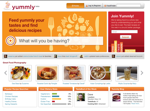 Yummly's Semantic Search Engine Is The Ultimate Online