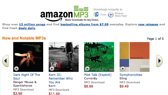 Amazon's MP3 Store On Hiring Spree, May Be Planning Major