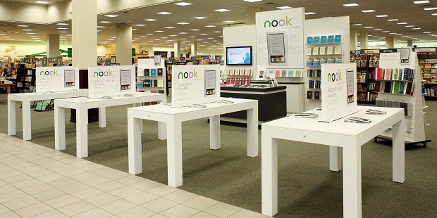 Barnes & Noble Expanding In-Store Nook Displays To Large