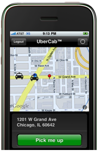 UberCab Takes The Hassle Out Of Booking A Car Service   TechCrunch