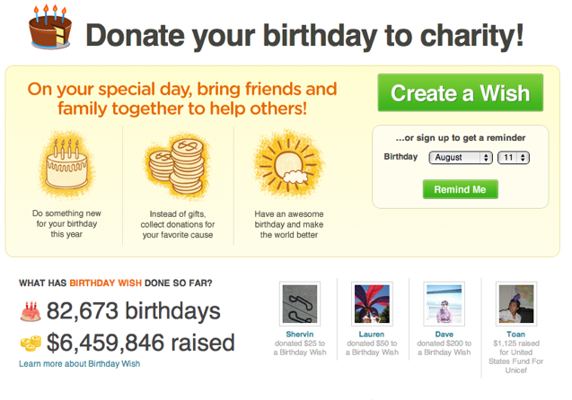 Bill Clinton Taps Revamped Causes Birthday Wish To Raise Money For