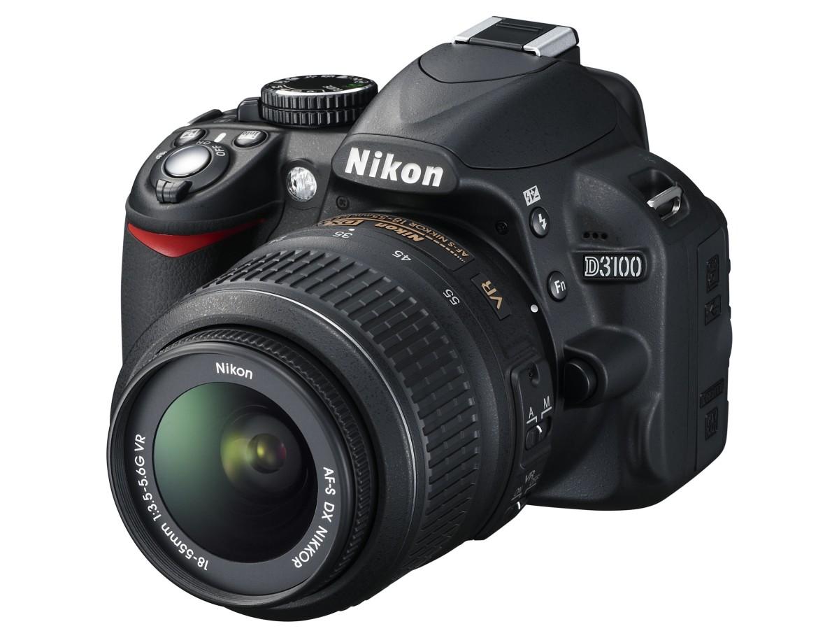 Nikon Makes The D3100 DSLR Official: $700, 14 Megapixels, Improved