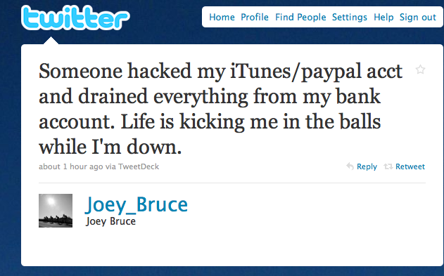 Fraudsters Drain PayPal Accounts Through iTunes | TechCrunch