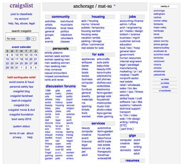 Craigslist bellinham
