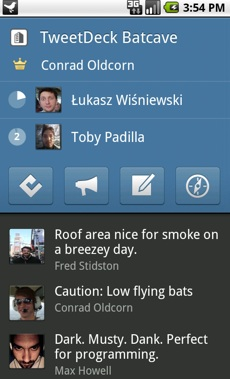 First Look At TweetDeck For Android | TechCrunch