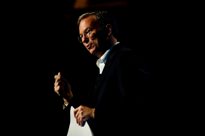 Google's Eric Schmidt says it's time to ignore petty politics and