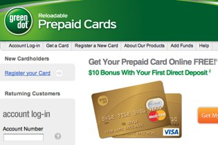 greendot theres a good chance youve seen prepaid credit cards on the shelves at 7 11 walmart cvs rite aid radio shack or a variety of other retail - Green Dot Prepaid Visa Card