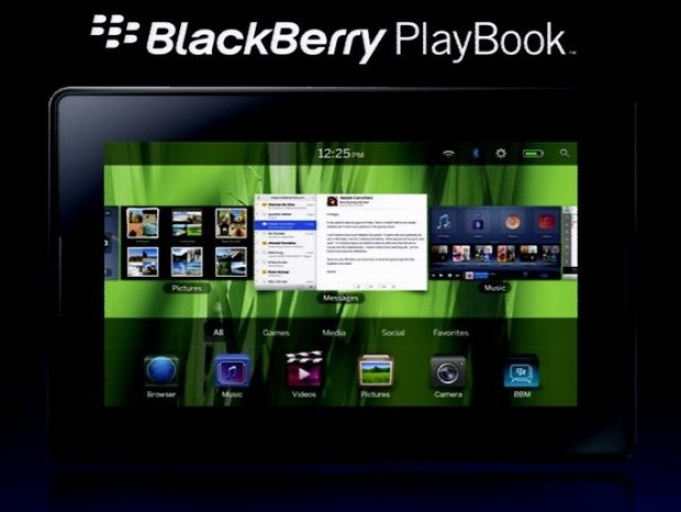 RIM Outs The PlayBook BlackBerry Tablet [Update: Video Demo
