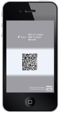 scan barcode on iphone ebay adds qr codes to barcode scanning app redlaser 16058