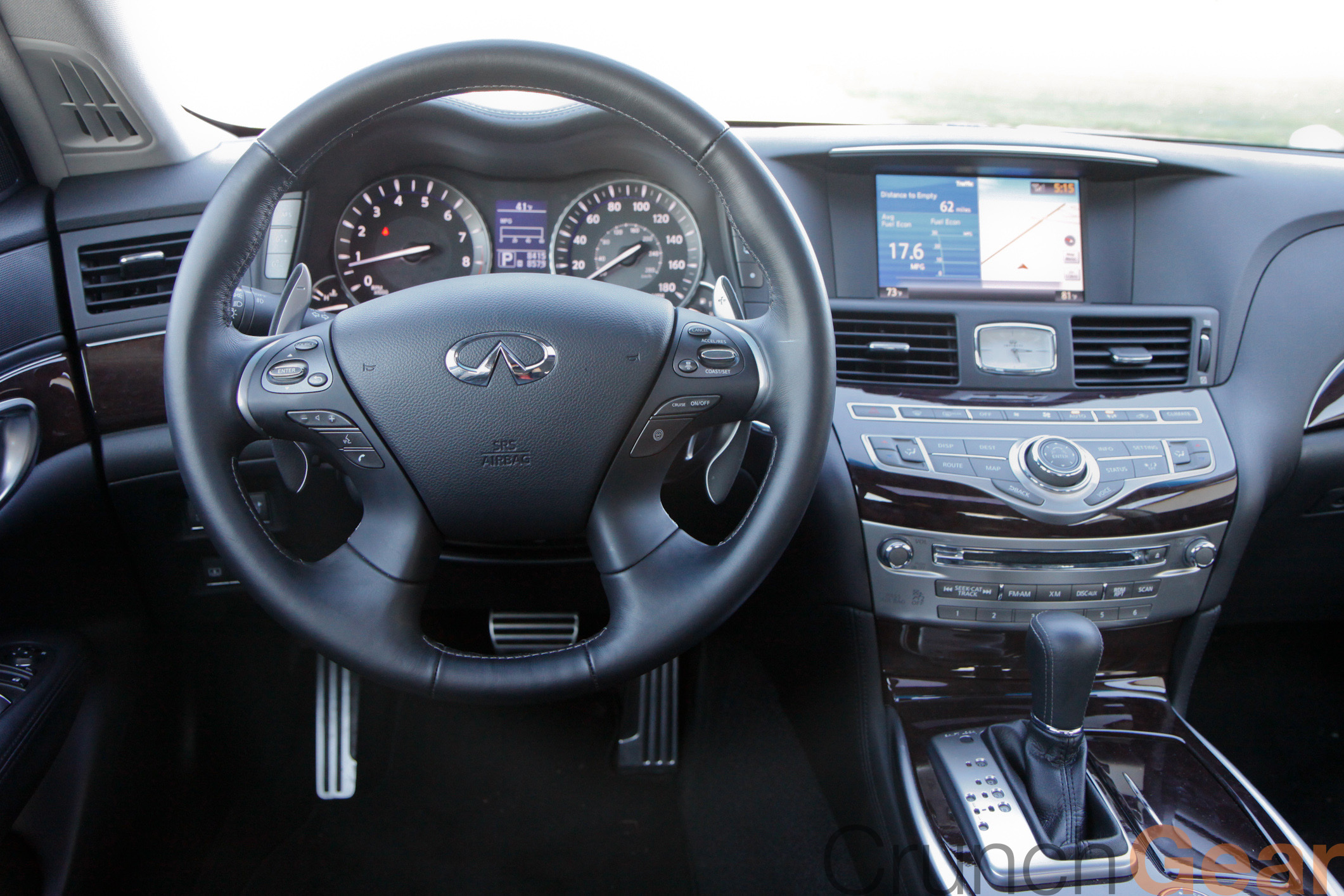 2011 Infiniti M37s The Limit As Car Electronics Approach Infinity