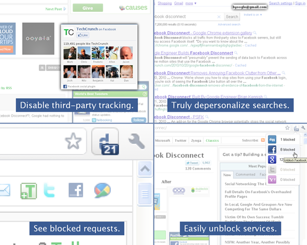 Former Googler Launches Disconnect, Browser Extension That