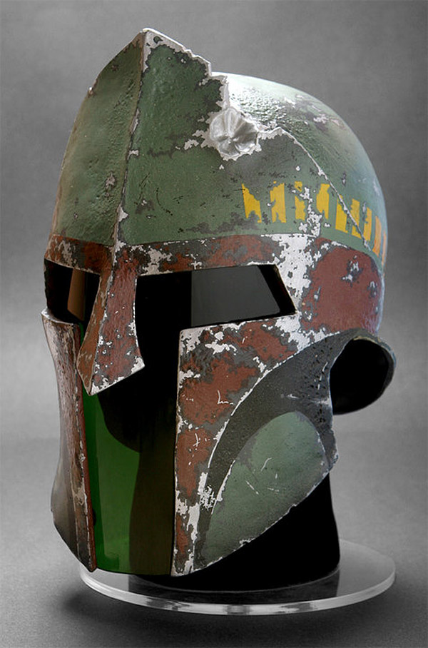 This is a boba fett spartan helmet techcrunch for Spartan mask template