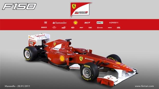 Ferrari F150 The First Formula One Car Of The Season Inches Toward