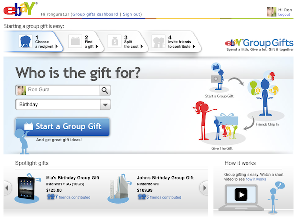 The Gifts Project Unwraps EBay Index Ventures Inside