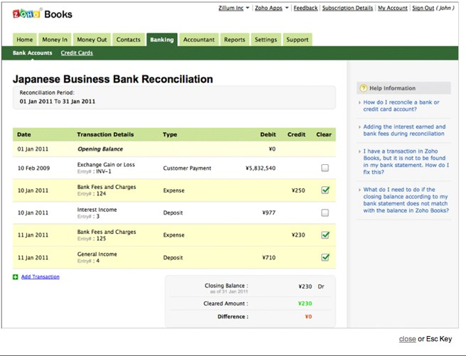 zoho debuts online accounting and invoicing service zoho books