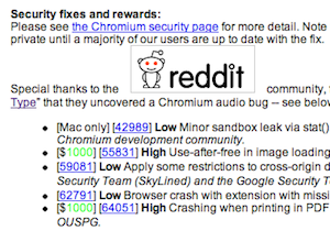 Google Unveils Chrome 9 And Credits Reddit For Their Help